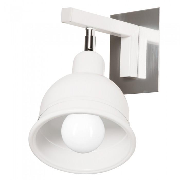 Aplica moderna cu spot directionabil, BERONI alb BN/K/1/W KM, Spoturi - iluminat - cu 1 spot, Corpuri de iluminat, lustre, aplice, veioze, lampadare, plafoniere. Mobilier si decoratiuni, oglinzi, scaune, fotolii. Oferte speciale iluminat interior si exterior. Livram in toata tara.  a
