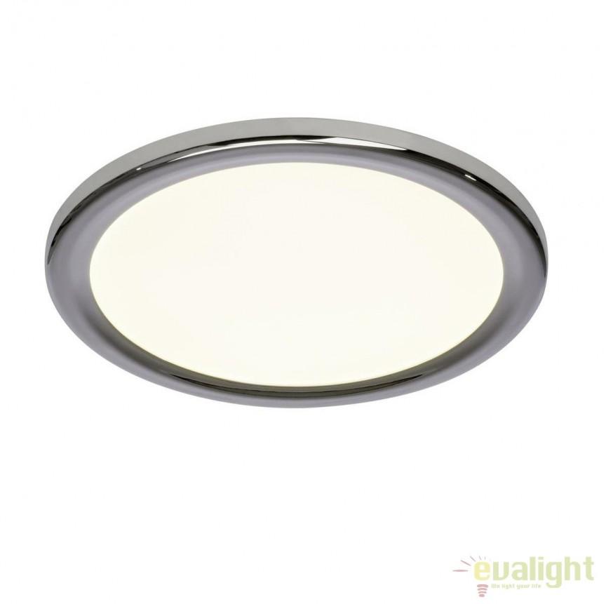 Plafoniera LED diam.30cm Palin G98808/15 BL, Plafoniere LED, Spoturi LED, Corpuri de iluminat, lustre, aplice, veioze, lampadare, plafoniere. Mobilier si decoratiuni, oglinzi, scaune, fotolii. Oferte speciale iluminat interior si exterior. Livram in toata tara.  a