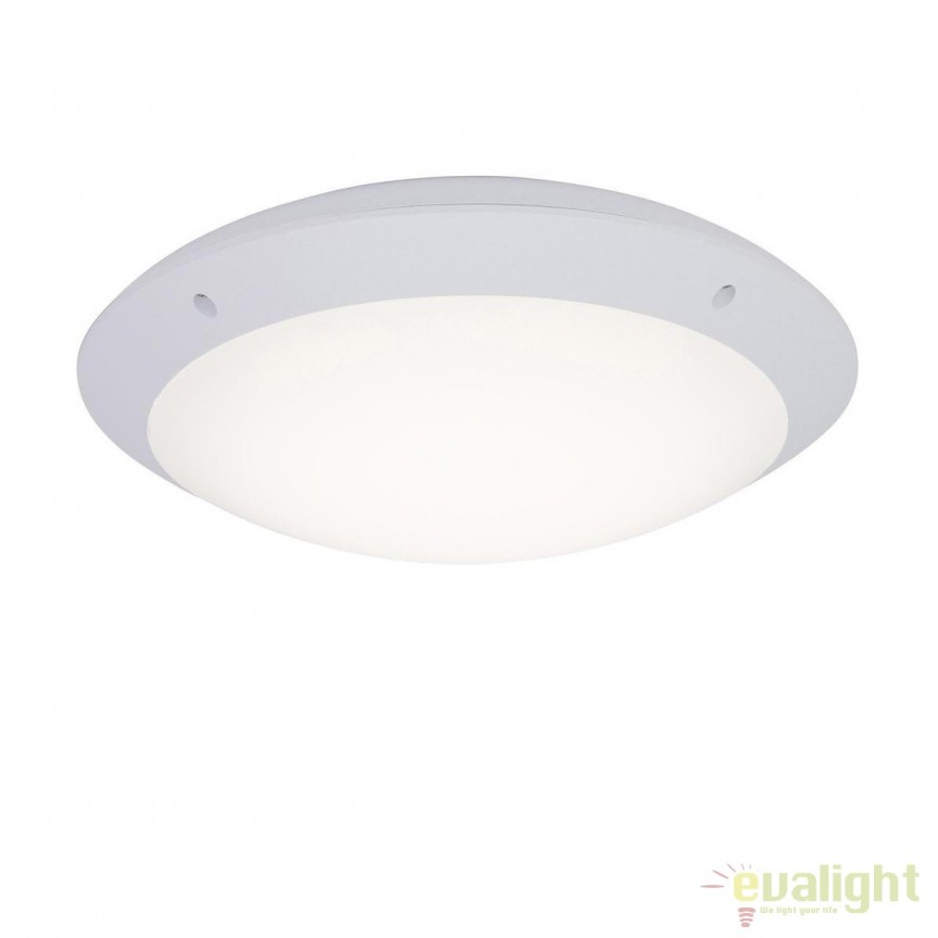 Plafoniera LED iluminat exterior IP65 Medway alba G96053/05 BL, Plafoniere de exterior, Corpuri de iluminat, lustre, aplice, veioze, lampadare, plafoniere. Mobilier si decoratiuni, oglinzi, scaune, fotolii. Oferte speciale iluminat interior si exterior. Livram in toata tara.  a