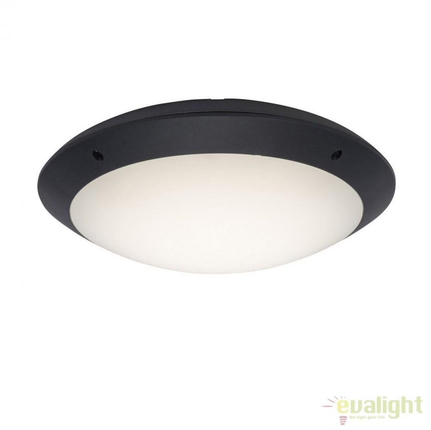 Plafoniera LED iluminat exterior IP65 Medway antracit G96053/63 BL, Plafoniere de exterior, Corpuri de iluminat, lustre, aplice, veioze, lampadare, plafoniere. Mobilier si decoratiuni, oglinzi, scaune, fotolii. Oferte speciale iluminat interior si exterior. Livram in toata tara.  a