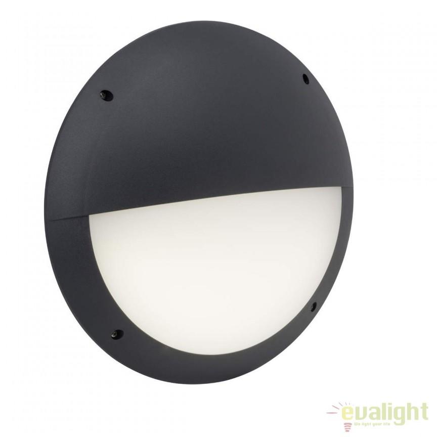 Aplica de perete LED iluminat exterior cu senzor IP65 Ballina antracit G96308/63 BL, Iluminat cu senzor de miscare, Corpuri de iluminat, lustre, aplice, veioze, lampadare, plafoniere. Mobilier si decoratiuni, oglinzi, scaune, fotolii. Oferte speciale iluminat interior si exterior. Livram in toata tara.  a