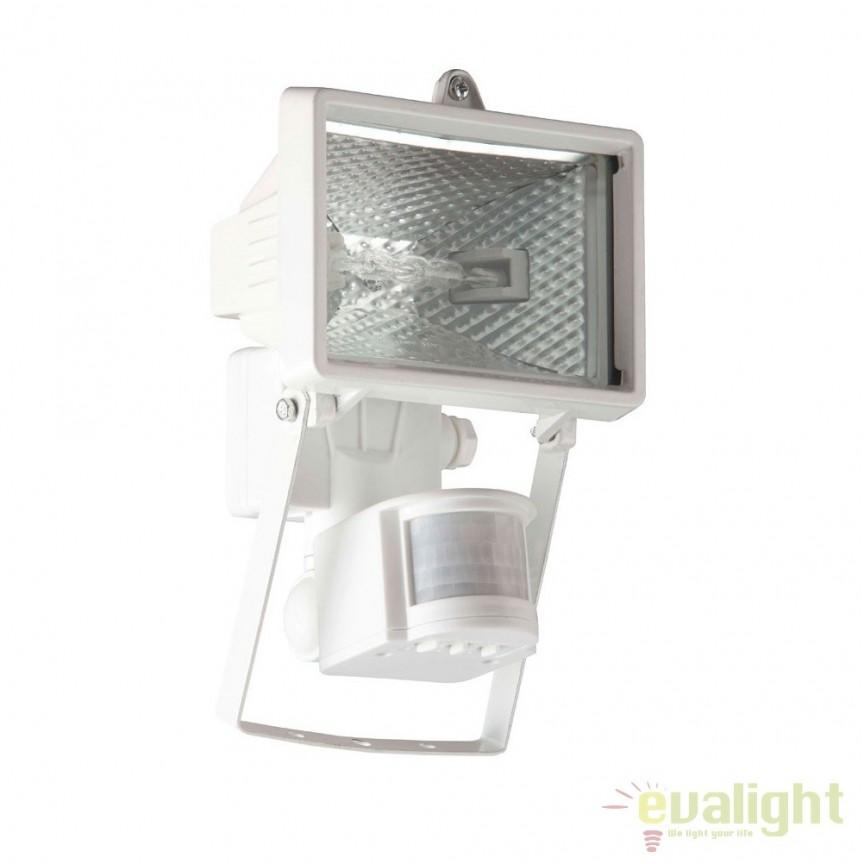 Proiector / Aplica iluminat exterior cu senzor IP44 Tanko alba 96162/05 BL, Iluminat cu senzor de miscare, Corpuri de iluminat, lustre, aplice, veioze, lampadare, plafoniere. Mobilier si decoratiuni, oglinzi, scaune, fotolii. Oferte speciale iluminat interior si exterior. Livram in toata tara.  a