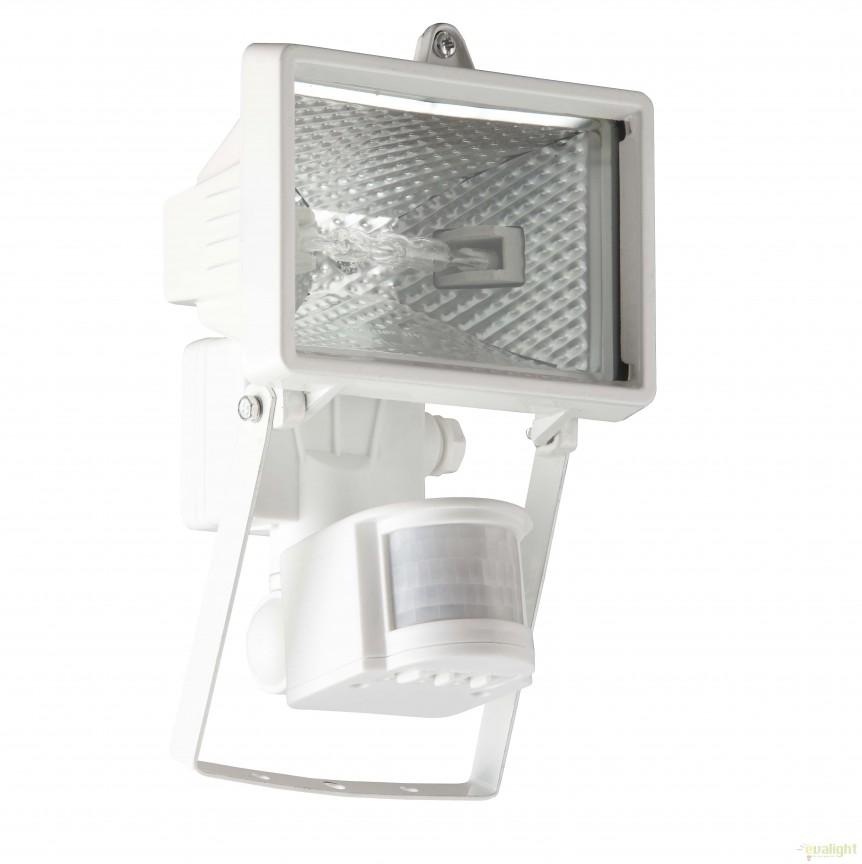 Proiector / Aplica iluminat exterior cu senzor IP44 Tanko alba 96164/05 BL, Iluminat cu senzor de miscare, Corpuri de iluminat, lustre, aplice, veioze, lampadare, plafoniere. Mobilier si decoratiuni, oglinzi, scaune, fotolii. Oferte speciale iluminat interior si exterior. Livram in toata tara.  a