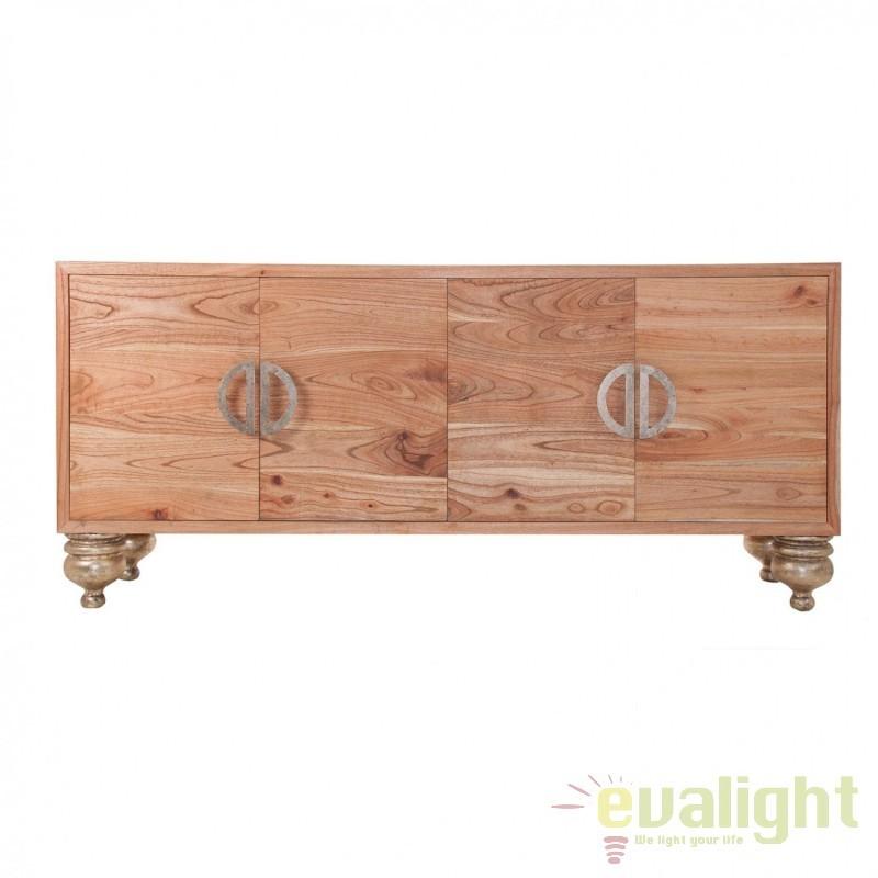 Comoda din lemn de mindi Zadar 23171 VH, Dulapuri - Comode, Corpuri de iluminat, lustre, aplice, veioze, lampadare, plafoniere. Mobilier si decoratiuni, oglinzi, scaune, fotolii. Oferte speciale iluminat interior si exterior. Livram in toata tara.  a