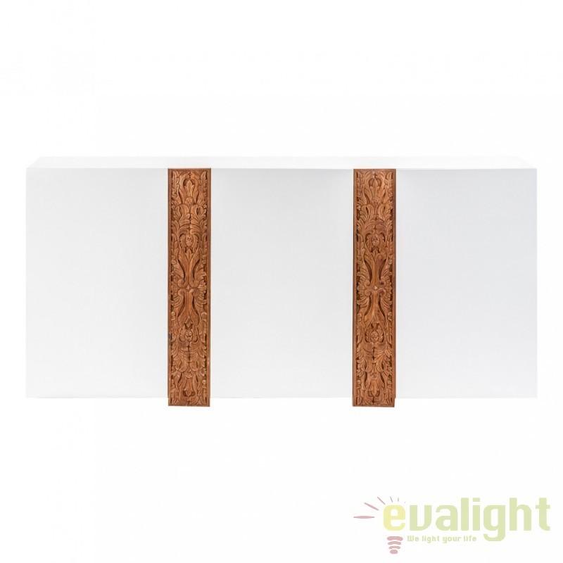 Comoda din lemn de mindi si lemn de tec Lulea 21485 VH, Dulapuri - Comode, Corpuri de iluminat, lustre, aplice, veioze, lampadare, plafoniere. Mobilier si decoratiuni, oglinzi, scaune, fotolii. Oferte speciale iluminat interior si exterior. Livram in toata tara.  a