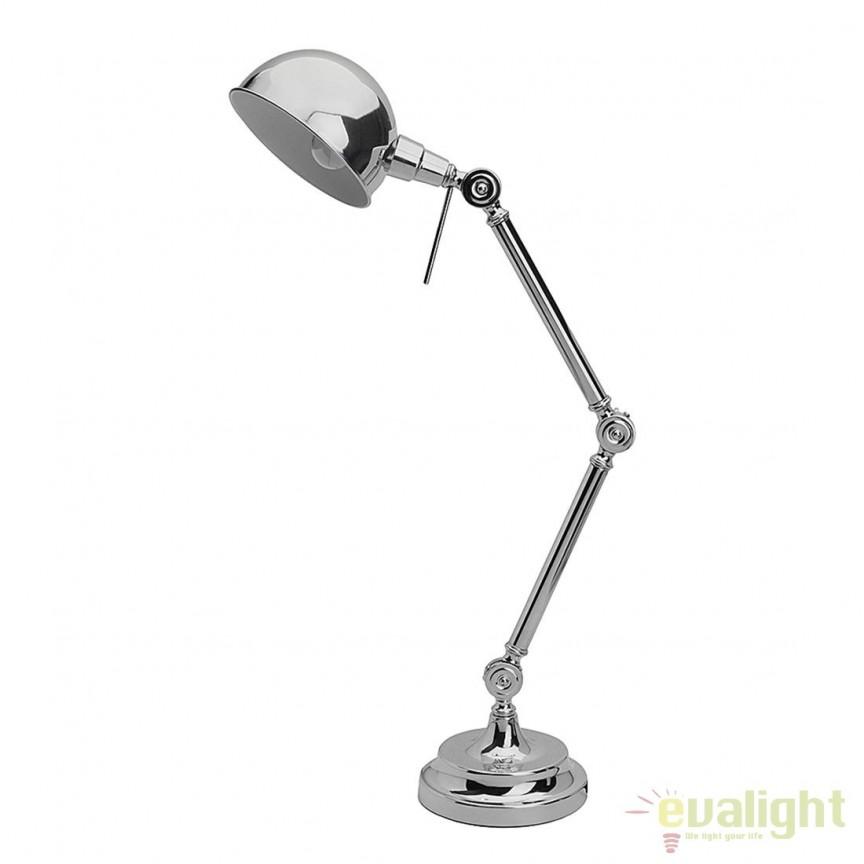 Veioza birou / Lampa moderna Zig Zag 92728/15 BL, Veioze de Birou moderne, Corpuri de iluminat, lustre, aplice, veioze, lampadare, plafoniere. Mobilier si decoratiuni, oglinzi, scaune, fotolii. Oferte speciale iluminat interior si exterior. Livram in toata tara.  a