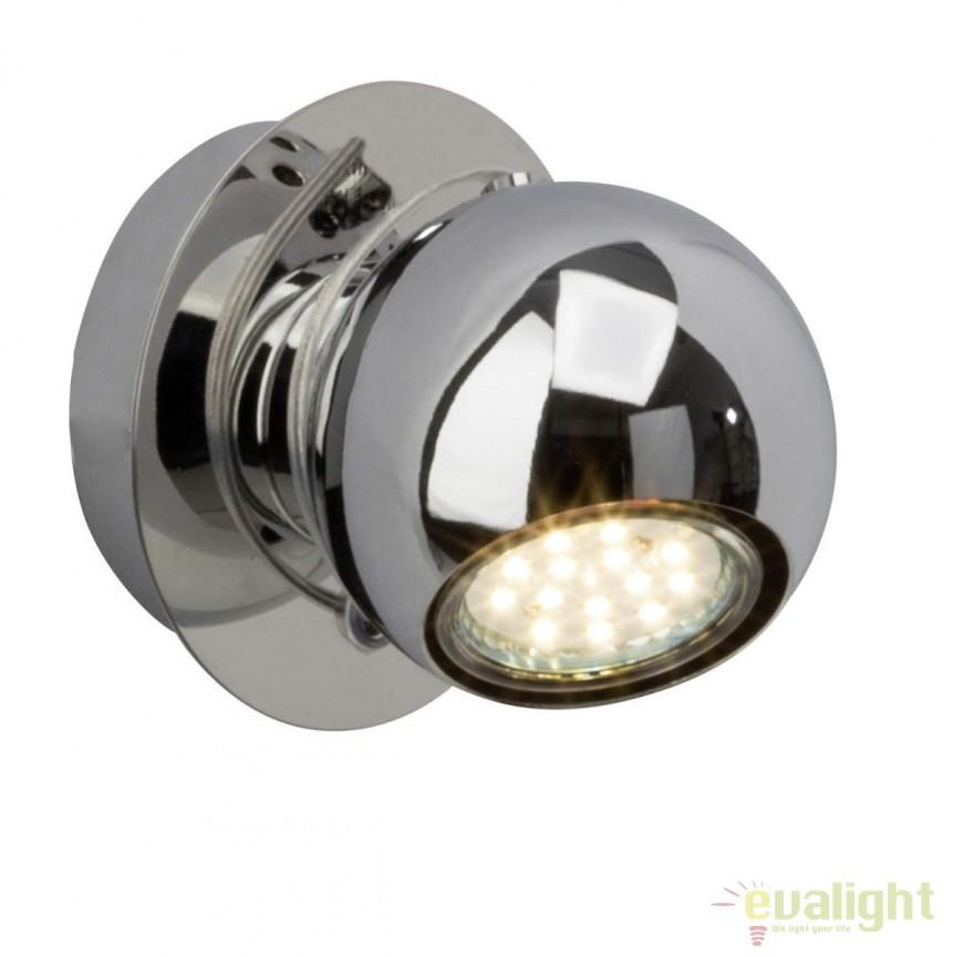 Aplica de perete cu spot Magnito LED G21610/15 BL, Aplice de perete LED, Corpuri de iluminat, lustre, aplice, veioze, lampadare, plafoniere. Mobilier si decoratiuni, oglinzi, scaune, fotolii. Oferte speciale iluminat interior si exterior. Livram in toata tara.  a