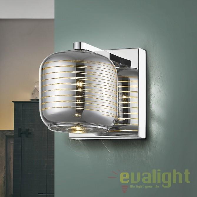 Aplica de perete LED design modern Vias SV-654168, Aplice de perete LED, Corpuri de iluminat, lustre, aplice, veioze, lampadare, plafoniere. Mobilier si decoratiuni, oglinzi, scaune, fotolii. Oferte speciale iluminat interior si exterior. Livram in toata tara.  a