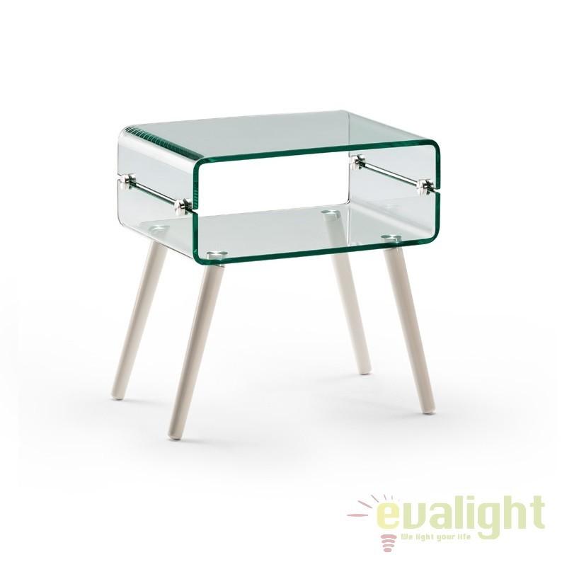 Masuta de cafea design modern Glass II SV-552933, Promotii si Reduceri⭐ Oferte ✅Corpuri de iluminat ✅Lustre ✅Mobila ✅Decoratiuni de interior si exterior.⭕Pret redus online➜Lichidari de stoc❗ Magazin ➽ www.evalight.ro. a