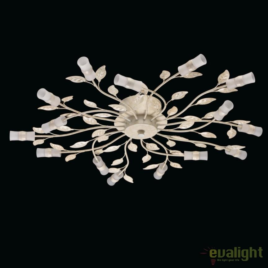 Lustra LED aplicata design modern Floral 334012815 MW, Lustre LED, Pendule LED, Corpuri de iluminat, lustre, aplice, veioze, lampadare, plafoniere. Mobilier si decoratiuni, oglinzi, scaune, fotolii. Oferte speciale iluminat interior si exterior. Livram in toata tara.  a