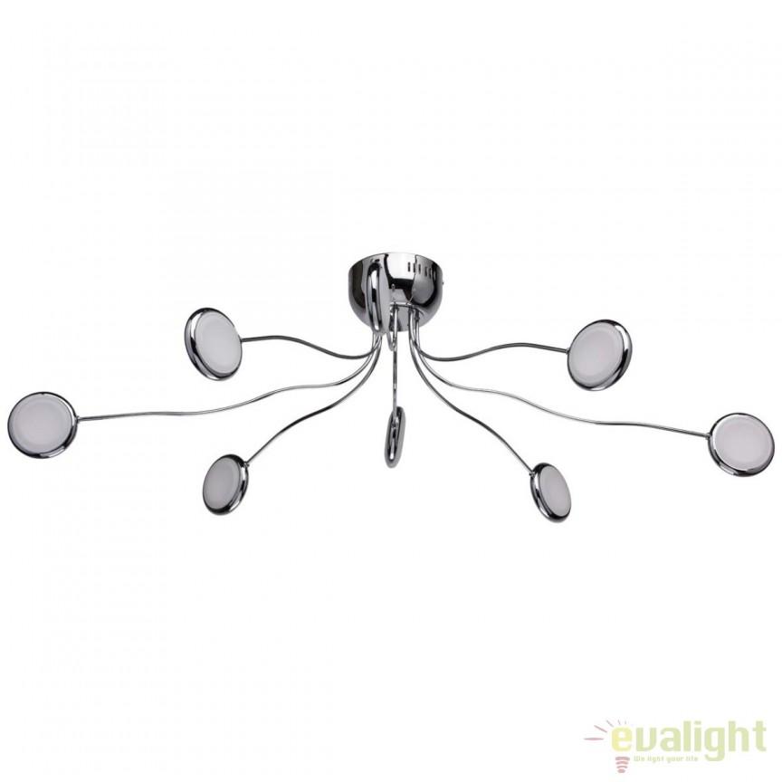 Lustra LED design modern directionabila Flensburg 609013408 MW, Lustre LED, Pendule LED, Corpuri de iluminat, lustre, aplice, veioze, lampadare, plafoniere. Mobilier si decoratiuni, oglinzi, scaune, fotolii. Oferte speciale iluminat interior si exterior. Livram in toata tara.  a