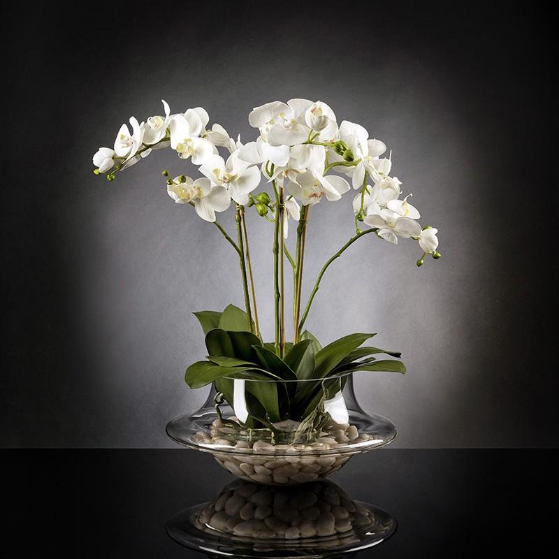 Aranjament floral LIGHT ATOLLO 3 PHALENOPSIS BIG 1141375.95, Aranjamente florale LUX, Corpuri de iluminat, lustre, aplice, veioze, lampadare, plafoniere. Mobilier si decoratiuni, oglinzi, scaune, fotolii. Oferte speciale iluminat interior si exterior. Livram in toata tara.  a