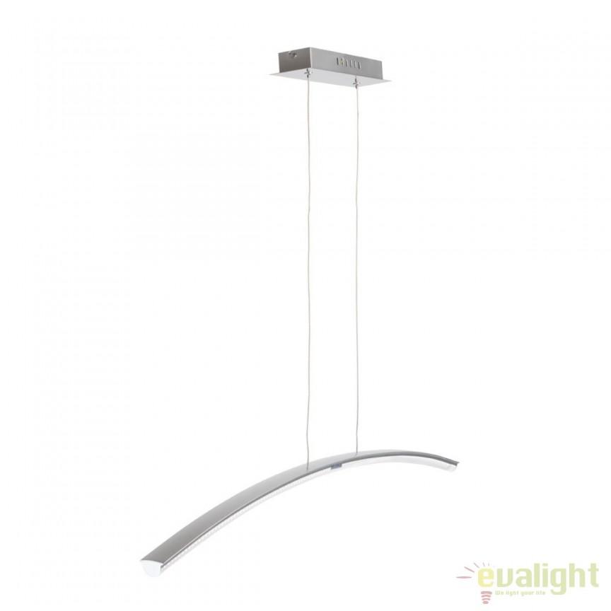Lustra LED moderna Platon 661010301 MW, Lustre LED, Pendule LED, Corpuri de iluminat, lustre, aplice, veioze, lampadare, plafoniere. Mobilier si decoratiuni, oglinzi, scaune, fotolii. Oferte speciale iluminat interior si exterior. Livram in toata tara.  a