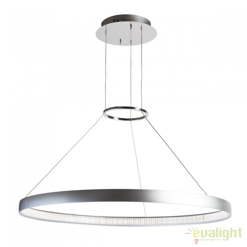 Lustra LED moderna Platon 661010101 MW, Lustre LED, Pendule LED, Corpuri de iluminat, lustre, aplice, veioze, lampadare, plafoniere. Mobilier si decoratiuni, oglinzi, scaune, fotolii. Oferte speciale iluminat interior si exterior. Livram in toata tara.  a