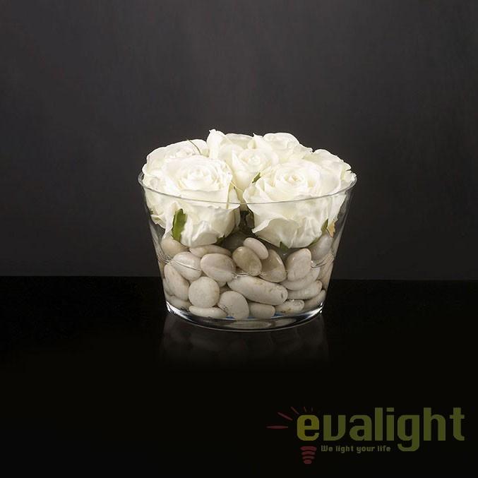 Aranjament floral decor festiv design LUX, ROMANTIC ROSE MEDIUM 1141055.93, Aranjamente florale LUX, Corpuri de iluminat, lustre, aplice, veioze, lampadare, plafoniere. Mobilier si decoratiuni, oglinzi, scaune, fotolii. Oferte speciale iluminat interior si exterior. Livram in toata tara.  a