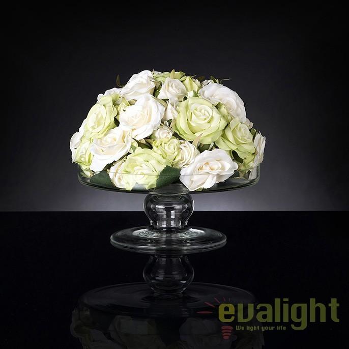 Aranjament floral mic decor festiv design LUX, STAND SMALL ROSES MIX 1141369.61, Aranjamente florale LUX, Corpuri de iluminat, lustre, aplice, veioze, lampadare, plafoniere. Mobilier si decoratiuni, oglinzi, scaune, fotolii. Oferte speciale iluminat interior si exterior. Livram in toata tara.  a