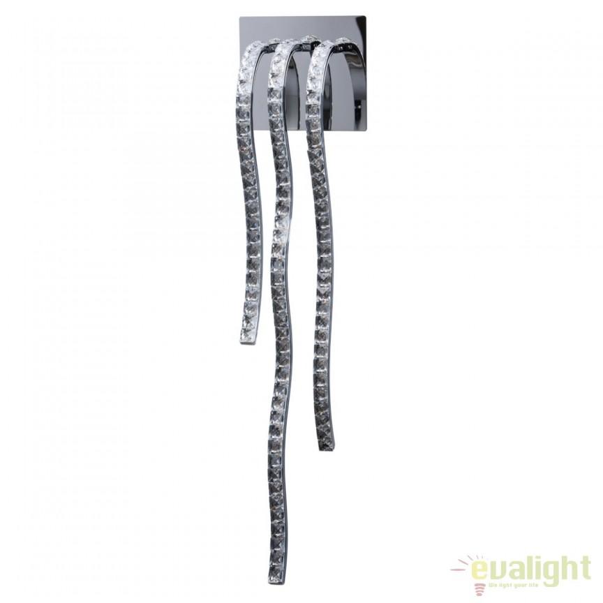Aplica perete LED moderna Aurica 496022303 MW, Aplice de perete LED, Corpuri de iluminat, lustre, aplice, veioze, lampadare, plafoniere. Mobilier si decoratiuni, oglinzi, scaune, fotolii. Oferte speciale iluminat interior si exterior. Livram in toata tara.  a