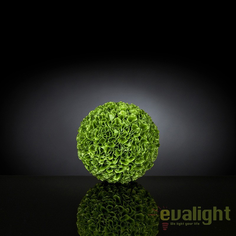 Aranjament floral elegant in forma de sfera, MOLUCELLA MEDIUM 1141292.60, Aranjamente florale LUX, Corpuri de iluminat, lustre, aplice, veioze, lampadare, plafoniere. Mobilier si decoratiuni, oglinzi, scaune, fotolii. Oferte speciale iluminat interior si exterior. Livram in toata tara.  a