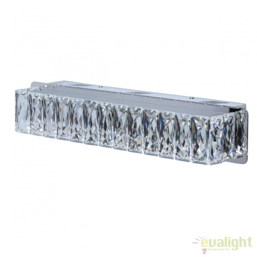 Aplica perete LED moderna Cristal 498022701 MW, Aplice de perete LED, Corpuri de iluminat, lustre, aplice, veioze, lampadare, plafoniere. Mobilier si decoratiuni, oglinzi, scaune, fotolii. Oferte speciale iluminat interior si exterior. Livram in toata tara.  a