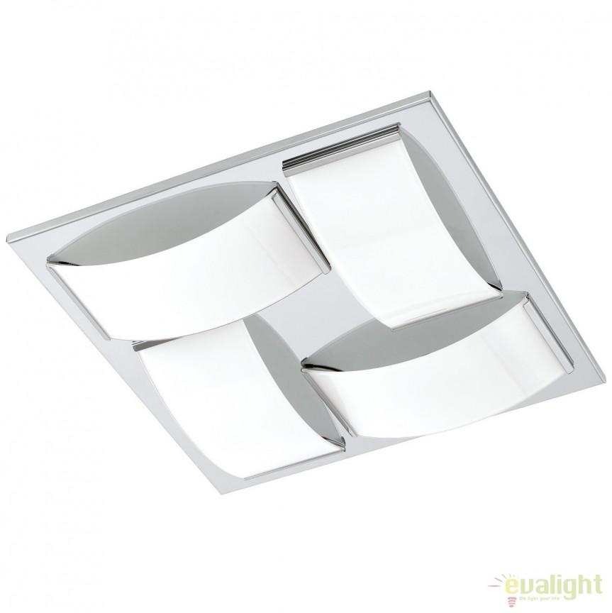 Plafoniera LED baie IP44 WASAO 1 crom 94884 EL, Magazin, Corpuri de iluminat, lustre, aplice, veioze, lampadare, plafoniere. Mobilier si decoratiuni, oglinzi, scaune, fotolii. Oferte speciale iluminat interior si exterior. Livram in toata tara.  a