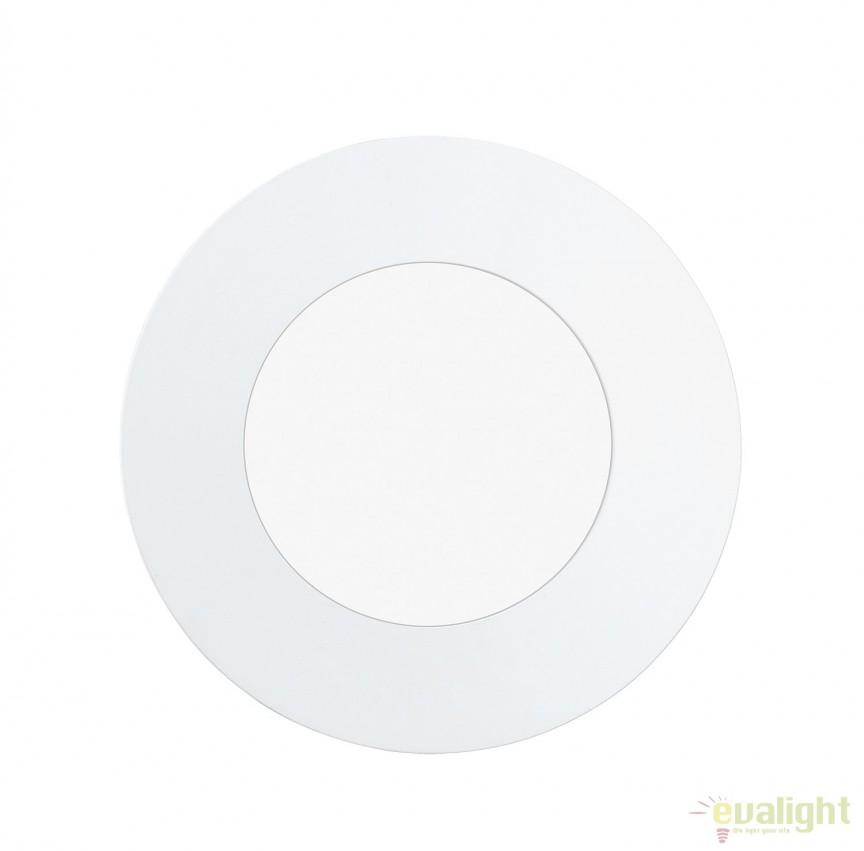 Spot LED incastrabil pentru baie IP44 FUEVA 1 alb 3000K 96163 EL, Plafoniere cu protectie pentru baie, Corpuri de iluminat, lustre, aplice, veioze, lampadare, plafoniere. Mobilier si decoratiuni, oglinzi, scaune, fotolii. Oferte speciale iluminat interior si exterior. Livram in toata tara.  a