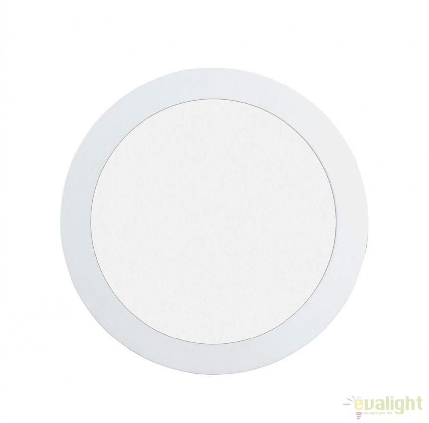 Spot LED incastrabil pentru baie IP44 FUEVA 1 alb 4000K 96166 EL, Plafoniere cu protectie pentru baie, Corpuri de iluminat, lustre, aplice, veioze, lampadare, plafoniere. Mobilier si decoratiuni, oglinzi, scaune, fotolii. Oferte speciale iluminat interior si exterior. Livram in toata tara.  a