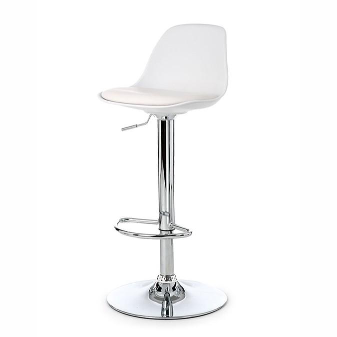 Set de 2 scaune de bar design modern TOW-RG-BL, alb 431.TTOWRGBL SDM, Scaune de bar, Corpuri de iluminat, lustre, aplice, veioze, lampadare, plafoniere. Mobilier si decoratiuni, oglinzi, scaune, fotolii. Oferte speciale iluminat interior si exterior. Livram in toata tara.  a