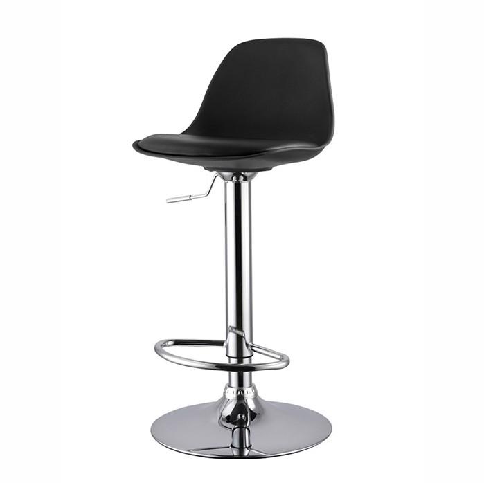 Set de 2 scaune de bar design modern TOW-RG-NE, negru 431.TTOWRGNE SDM, Scaune de bar, Corpuri de iluminat, lustre, aplice, veioze, lampadare, plafoniere. Mobilier si decoratiuni, oglinzi, scaune, fotolii. Oferte speciale iluminat interior si exterior. Livram in toata tara.  a