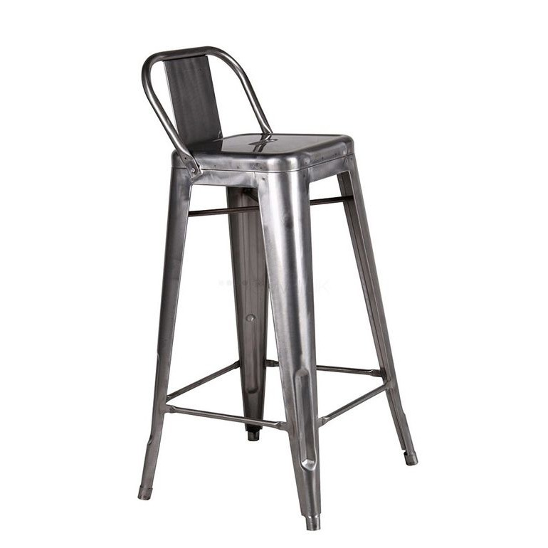 Set de 4 scaune de bar, design industrial TOL-MAR-GA galvanizat 436.TTOLMGA SDM, Scaune de bar, Corpuri de iluminat, lustre, aplice, veioze, lampadare, plafoniere. Mobilier si decoratiuni, oglinzi, scaune, fotolii. Oferte speciale iluminat interior si exterior. Livram in toata tara.  a