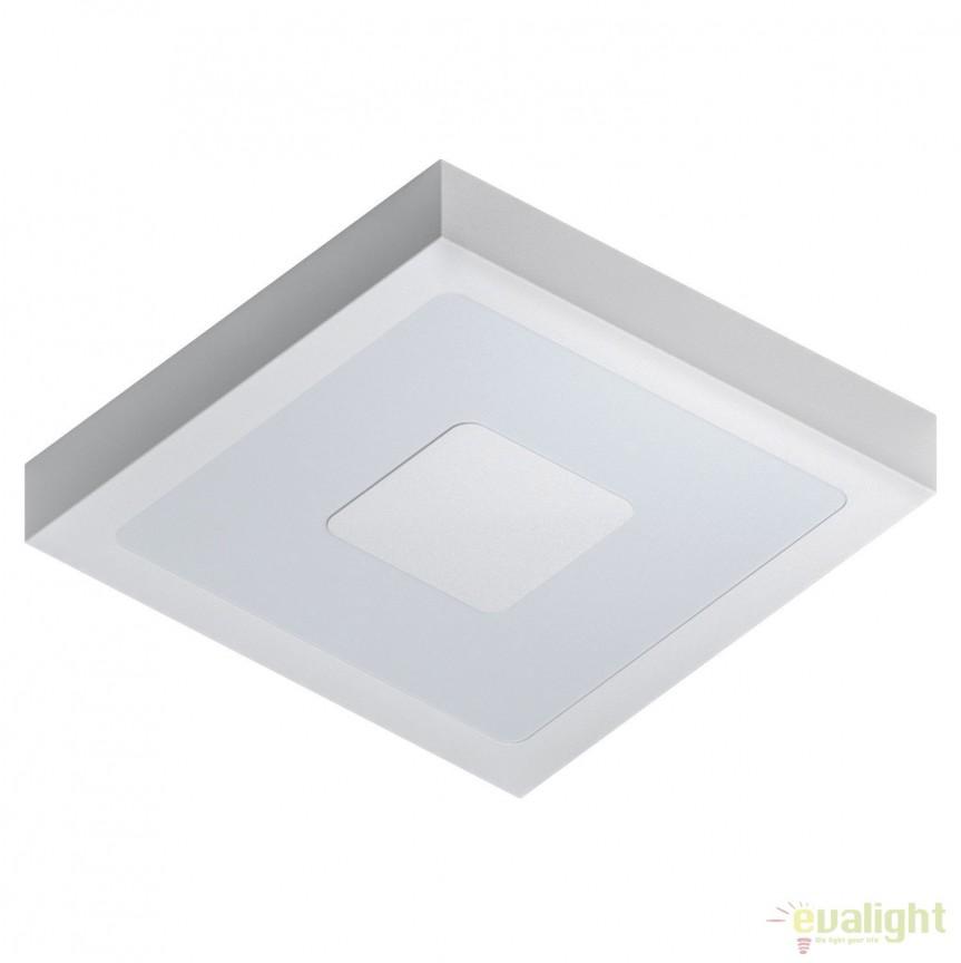 Plafoniera LED de exterior moderna IP44 IPHIAS alba 96488 EL, Plafoniere de exterior, Corpuri de iluminat, lustre, aplice, veioze, lampadare, plafoniere. Mobilier si decoratiuni, oglinzi, scaune, fotolii. Oferte speciale iluminat interior si exterior. Livram in toata tara.  a