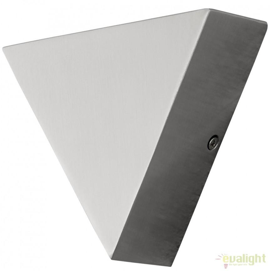 Aplica de perete LED exterior ambientala IP44 TRIGO 1 95093 EL, Aplice de exterior moderne , Corpuri de iluminat, lustre, aplice, veioze, lampadare, plafoniere. Mobilier si decoratiuni, oglinzi, scaune, fotolii. Oferte speciale iluminat interior si exterior. Livram in toata tara.  a