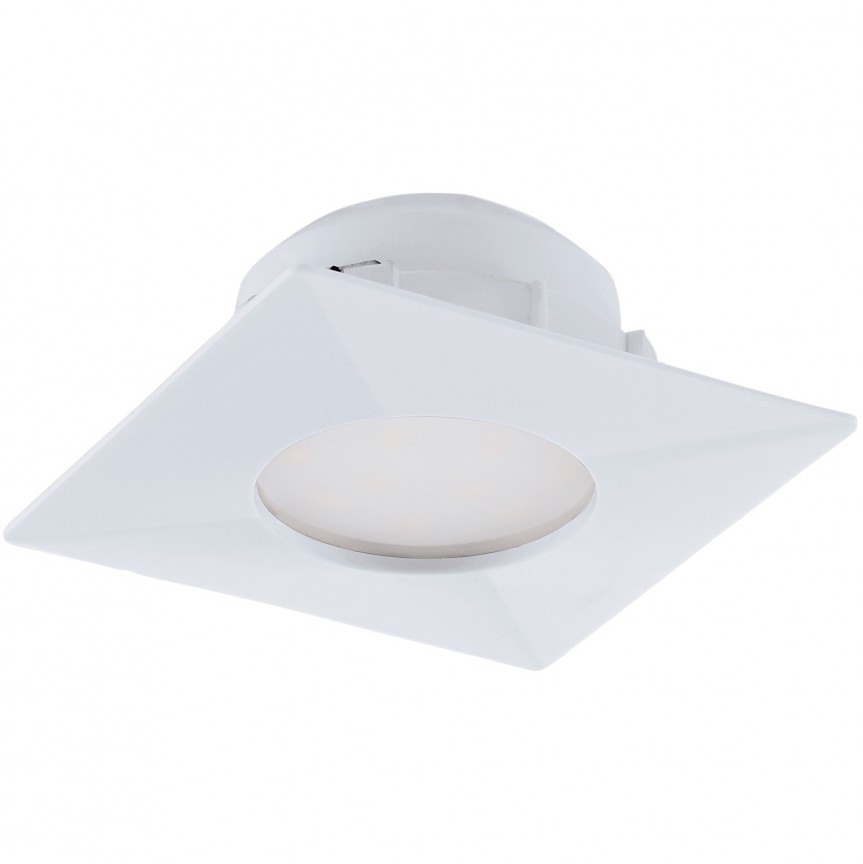 Spot LED incastrabil PINEDA alb 95797 EL, Spoturi LED incastrate, aplicate, Corpuri de iluminat, lustre, aplice, veioze, lampadare, plafoniere. Mobilier si decoratiuni, oglinzi, scaune, fotolii. Oferte speciale iluminat interior si exterior. Livram in toata tara.  a