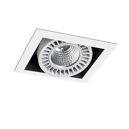 Spot LED incastrabil COLIN-1 56° RETAIL 21/30W pearl white 034011001, Spoturi incastrate, aplicate / spatii comerciale, Corpuri de iluminat, lustre, aplice, veioze, lampadare, plafoniere. Mobilier si decoratiuni, oglinzi, scaune, fotolii. Oferte speciale iluminat interior si exterior. Livram in toata tara.  a