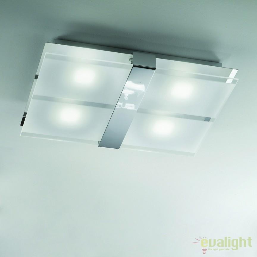 Plafoniera LED moderna Rakel Naro DL 7-593 OR, Plafoniere LED, Spoturi LED, Corpuri de iluminat, lustre, aplice, veioze, lampadare, plafoniere. Mobilier si decoratiuni, oglinzi, scaune, fotolii. Oferte speciale iluminat interior si exterior. Livram in toata tara.  a