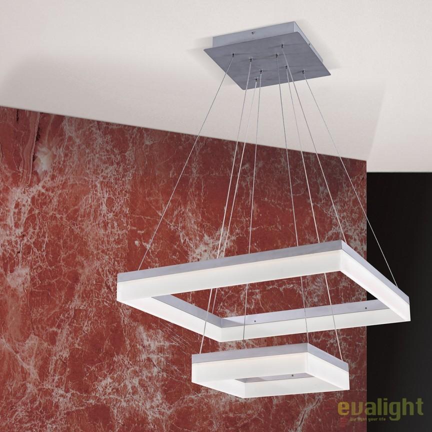Lustra LED design modern Isaura HL 6-1587 OR, Lustre LED, Pendule LED, Corpuri de iluminat, lustre, aplice, veioze, lampadare, plafoniere. Mobilier si decoratiuni, oglinzi, scaune, fotolii. Oferte speciale iluminat interior si exterior. Livram in toata tara.  a