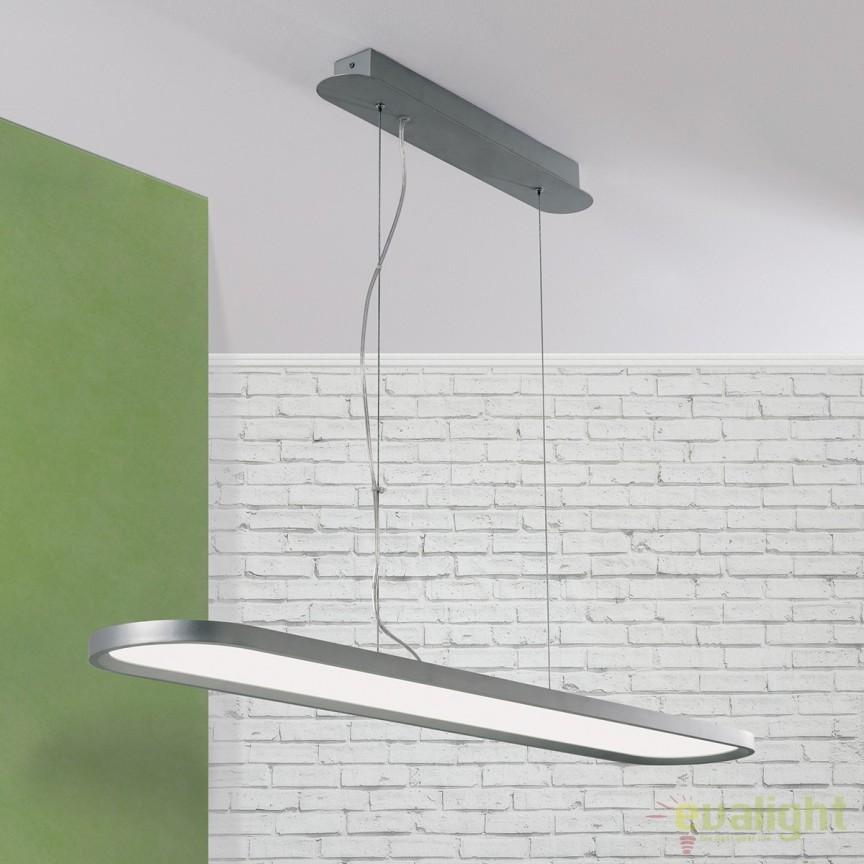 Lustra LED design modern Nevo HL 6-1586 OR, Lustre LED, Pendule LED, Corpuri de iluminat, lustre, aplice, veioze, lampadare, plafoniere. Mobilier si decoratiuni, oglinzi, scaune, fotolii. Oferte speciale iluminat interior si exterior. Livram in toata tara.  a