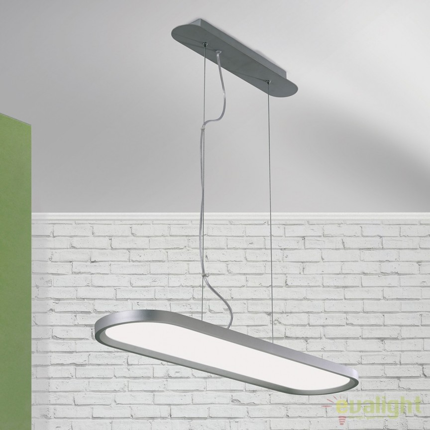 Lustra LED design modern Nevo HL 6-1585 OR, Lustre LED, Pendule LED, Corpuri de iluminat, lustre, aplice, veioze, lampadare, plafoniere. Mobilier si decoratiuni, oglinzi, scaune, fotolii. Oferte speciale iluminat interior si exterior. Livram in toata tara.  a