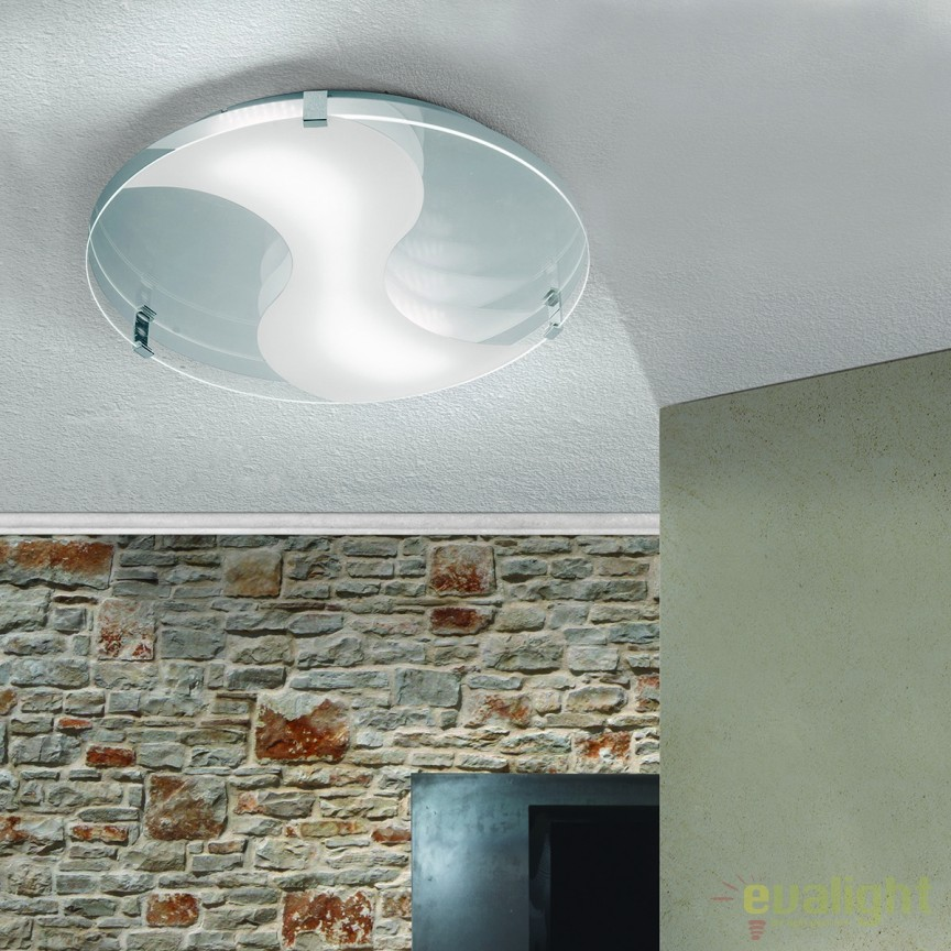 Plafoniera LED design modern Jano round DL 7-609 OR, Plafoniere LED, Spoturi LED, Corpuri de iluminat, lustre, aplice, veioze, lampadare, plafoniere. Mobilier si decoratiuni, oglinzi, scaune, fotolii. Oferte speciale iluminat interior si exterior. Livram in toata tara.  a