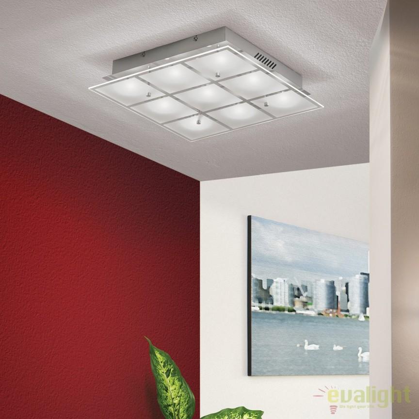Plafoniera LED design modern Meno DL 7-605/9 OR, Plafoniere LED, Spoturi LED, Corpuri de iluminat, lustre, aplice, veioze, lampadare, plafoniere. Mobilier si decoratiuni, oglinzi, scaune, fotolii. Oferte speciale iluminat interior si exterior. Livram in toata tara.  a
