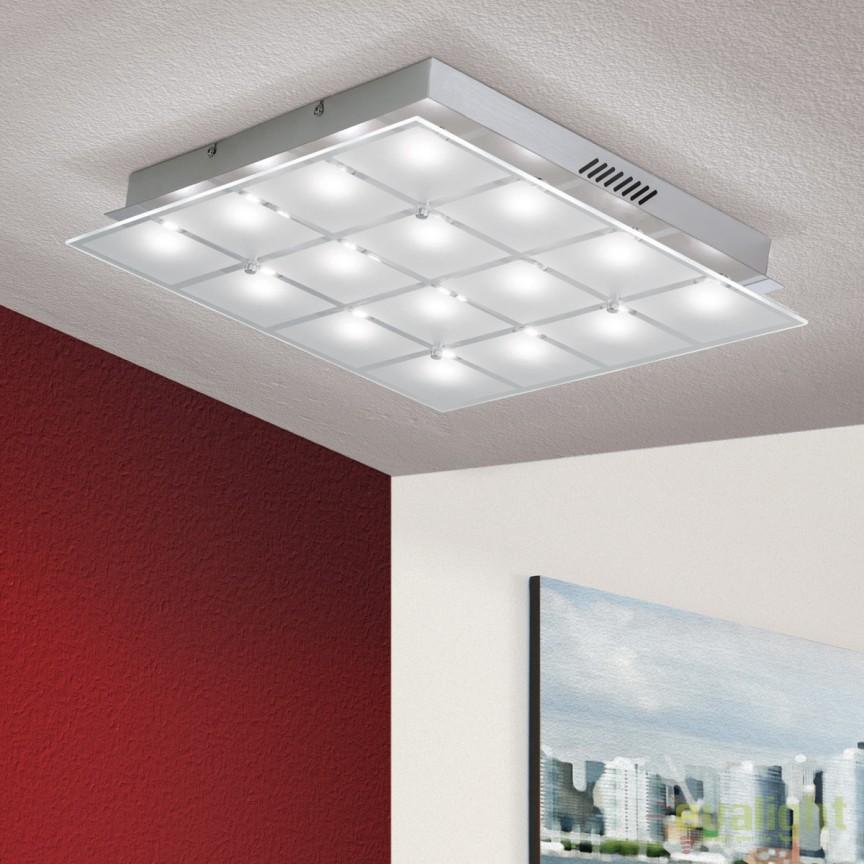 Plafoniera LED design modern Meno DL 7-605/16 OR, Plafoniere LED, Spoturi LED, Corpuri de iluminat, lustre, aplice, veioze, lampadare, plafoniere. Mobilier si decoratiuni, oglinzi, scaune, fotolii. Oferte speciale iluminat interior si exterior. Livram in toata tara.  a