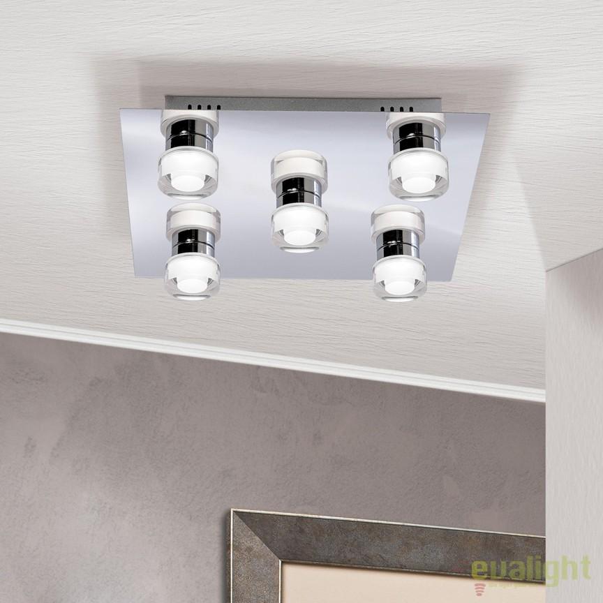 Plafoniera LED moderna Venuto Str 10-454/5 OR, Plafoniere LED, Spoturi LED, Corpuri de iluminat, lustre, aplice, veioze, lampadare, plafoniere. Mobilier si decoratiuni, oglinzi, scaune, fotolii. Oferte speciale iluminat interior si exterior. Livram in toata tara.  a