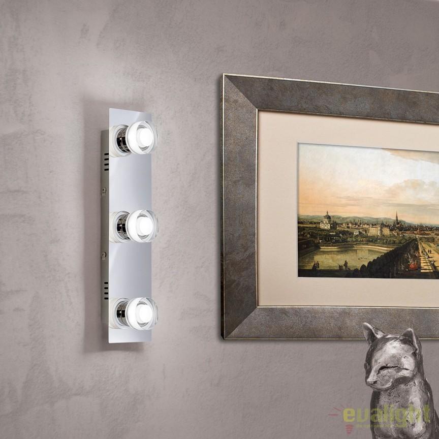 Aplica perete LED moderna Venuto 3 Str 10-454/3 OR, Aplice de perete LED, Corpuri de iluminat, lustre, aplice, veioze, lampadare, plafoniere. Mobilier si decoratiuni, oglinzi, scaune, fotolii. Oferte speciale iluminat interior si exterior. Livram in toata tara.  a