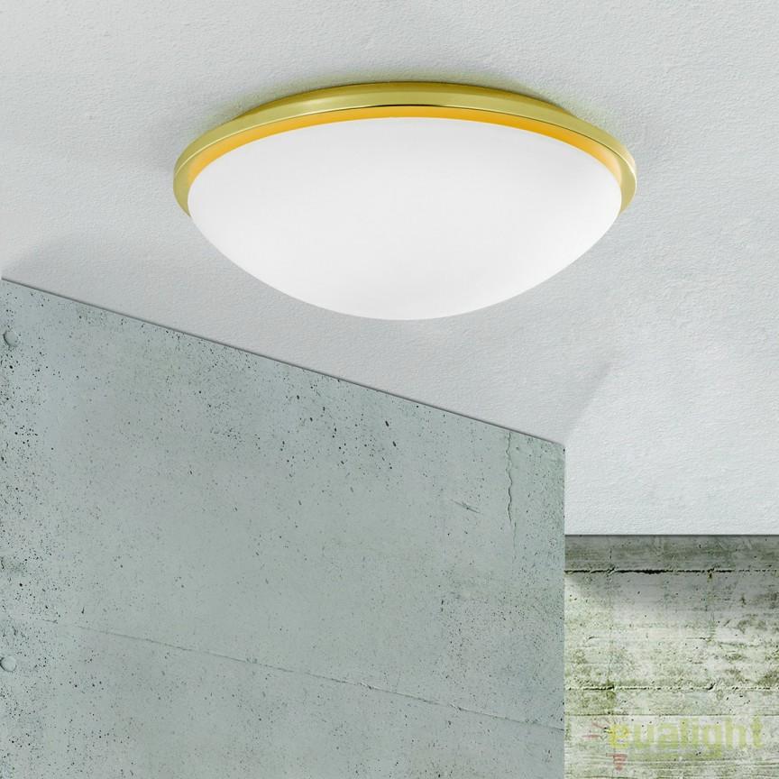 Plafoniera LED pentru baie IP44 Glanto 38cm NU 9-388/30A MS-matt OR, Plafoniere cu protectie pentru baie, Corpuri de iluminat, lustre, aplice, veioze, lampadare, plafoniere. Mobilier si decoratiuni, oglinzi, scaune, fotolii. Oferte speciale iluminat interior si exterior. Livram in toata tara.  a