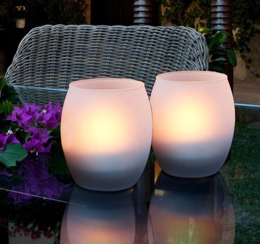 Lumanare decorativa cu LED, diam.10cm, H-12cm, Candle 522689, Lampi LED si Telecomanda, Corpuri de iluminat, lustre, aplice a