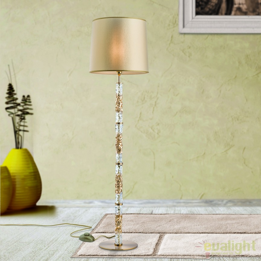 Lampadar / Lampa de podea eleganta Antea Stl 12-1161/1 Antik-gold OR, Lampadare, Corpuri de iluminat, lustre, aplice, veioze, lampadare, plafoniere. Mobilier si decoratiuni, oglinzi, scaune, fotolii. Oferte speciale iluminat interior si exterior. Livram in toata tara.  a