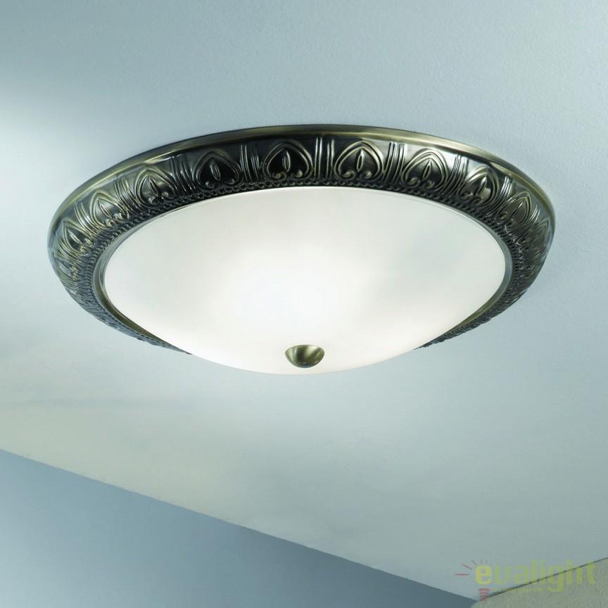 Plafoniera design rustic Pankok DL 7-583/38 bronze OR, Promotii si Reduceri⭐ Oferte ✅Corpuri de iluminat ✅Lustre ✅Mobila ✅Decoratiuni de interior si exterior.⭕Pret redus online➜Lichidari de stoc❗ Magazin ➽ www.evalight.ro. a
