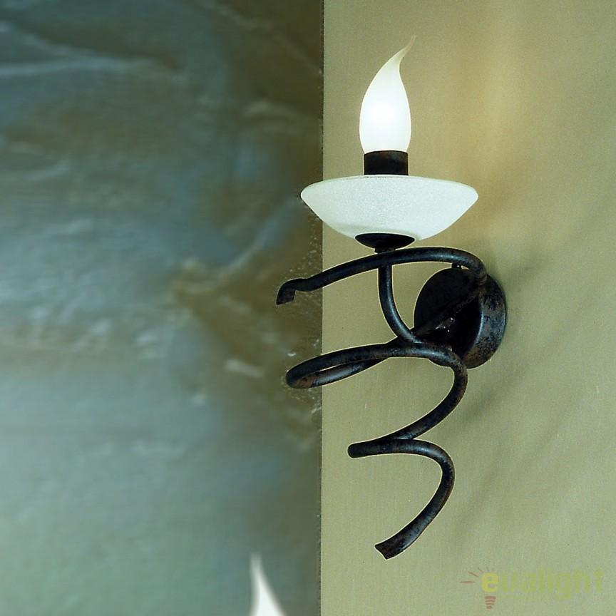 Aplica design rustic Vera WA 2-855/1 Antik OR, Aplice de perete, Corpuri de iluminat, lustre, aplice, veioze, lampadare, plafoniere. Mobilier si decoratiuni, oglinzi, scaune, fotolii. Oferte speciale iluminat interior si exterior. Livram in toata tara.  a