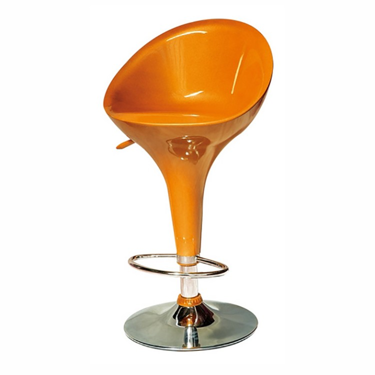 Set 2 scaune bar pivotante cu sezut din ABS, DANDY portocaliu 412.TDANNA SDM, Scaune de bar, Corpuri de iluminat, lustre, aplice, veioze, lampadare, plafoniere. Mobilier si decoratiuni, oglinzi, scaune, fotolii. Oferte speciale iluminat interior si exterior. Livram in toata tara.  a