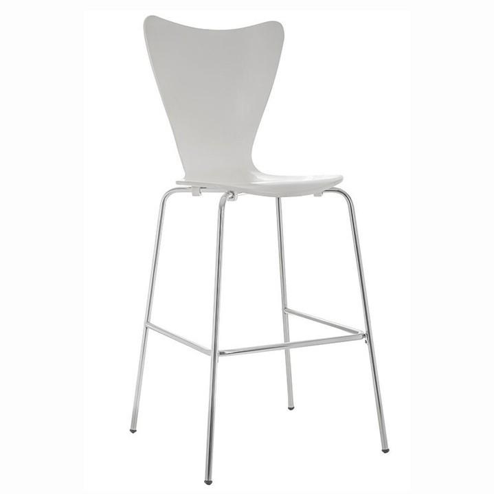Set 4 scaune de bar, ideale pentru cofetarii si spatii fast food, JACOB alb 427.TJABL SDM, Scaune de bar, Corpuri de iluminat, lustre, aplice, veioze, lampadare, plafoniere. Mobilier si decoratiuni, oglinzi, scaune, fotolii. Oferte speciale iluminat interior si exterior. Livram in toata tara.  a