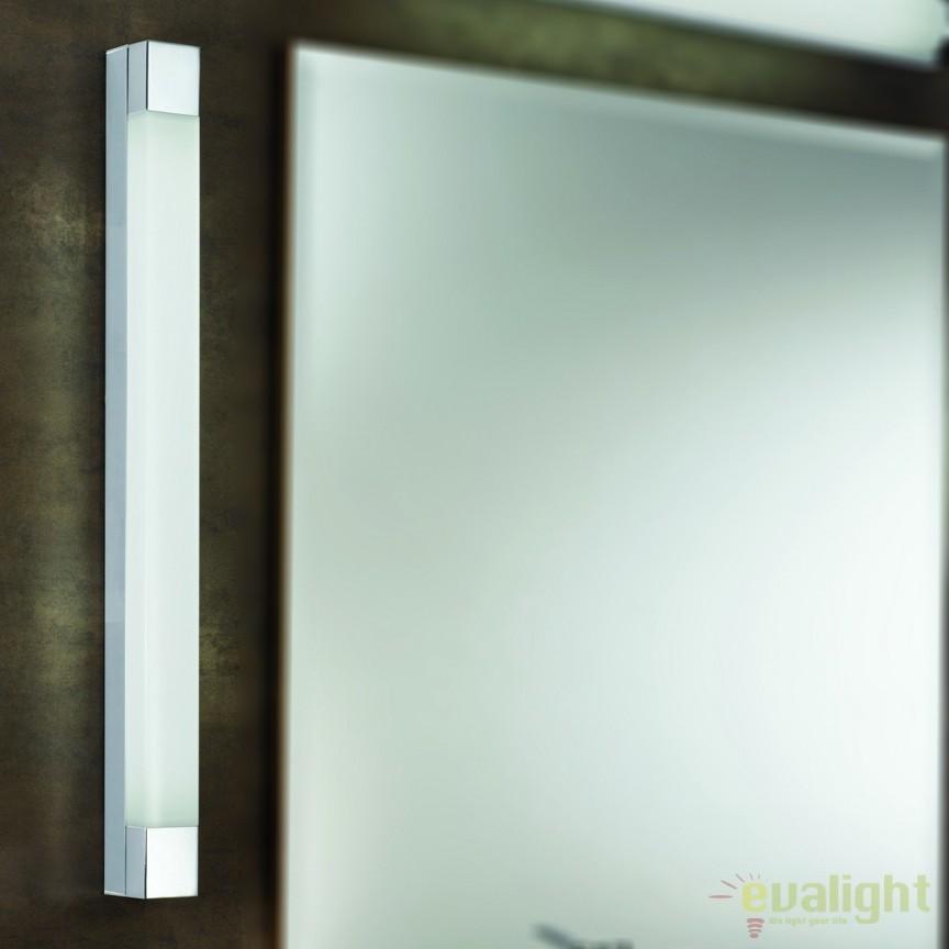 Aplica de perete pentru oglinda baie IP44 Laro 3-467/1 chrom O, Aplice pentru baie, oglinda, tablou, Corpuri de iluminat, lustre, aplice, veioze, lampadare, plafoniere. Mobilier si decoratiuni, oglinzi, scaune, fotolii. Oferte speciale iluminat interior si exterior. Livram in toata tara.  a